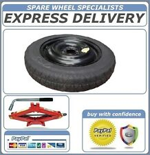 "NISSAN PULSAR 16"" SPACE SAVER SPARE WHEEL + LIFTING JACK ,WHEEL BRACE NEW"