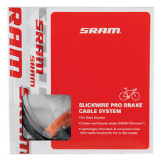 SRAM SlickWire Pro Road Bicycle Brake Cable System/Set Housing & Cables - Black