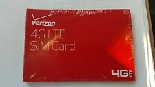 QTY: 50X Verizon 4G LTE Micro Sim Card - Brand New in Retail Sealed Package!!!
