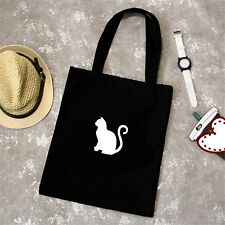 Little Cat Animals Women Tote Bag Shoulder Bag Handbag Canvas shopping Bags