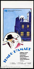 TEMPO D'AMARE LOCANDINA CINEMA FILM NOIRET 1971 TIME FOR LOVING PLAYBILL POSTER