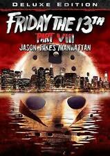 FRIDAY THE 13TH PART VIII: JASON TAKES MANHATTAN/NEW DVD/BUY 4 ITEMS SHIP FREE
