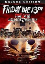 Friday The 13Th Part VIII: Jason Takes Manhattan (DVD MOVIE) BRAND NEW