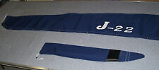 J22 MAIN SAIL COVER with Logo and TILLER COVER