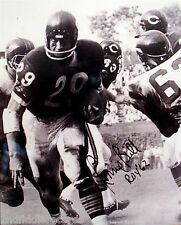 RONNIE BULL-Chicago Bears-Autographed 8x10 Picture-Rookie Of The Year 1962-COA