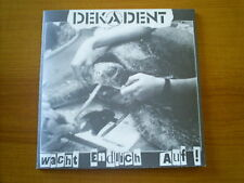 DEKADENT German ANARCHO PUNK EP 1996 YELLOW VINYL