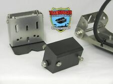 TRANSDUCER SHIELD & SAVER SPRING BACK BRACKET & ANGLE BLOCK FOR LOWRANCE LSS1