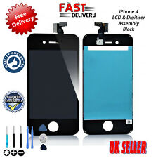 NEW HIGH QUALITY iPhone 4 Retina LCD & Touch Screen Digitiser Assembly BLACK