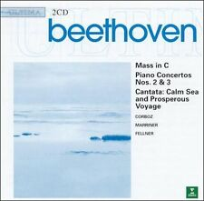 SIR NEVILLE MARRINER -- BEETHOVEN: Mass In C  PIANO CONCERTOS (CD / NEW)