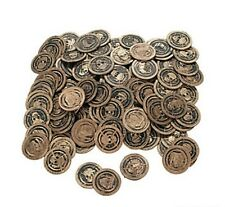144 PLAY PIRATE COINS BIRTHDAY PARTY FAVORS LOOT PRIZES TREASURE FAKE NOVELTY
