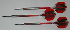 POWERGLIDE 80% Tungsten 26 Grams Fixed Point Steel Darts - Knurled Grip - #4