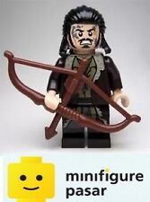 lor099 Lego The Hobbit LOTR 79016: Bard the Bowman Minifigure w Bow - New