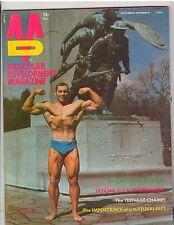 MUSCULAR DEVELOPMENT bodybuilding muscle magazine/BOB GALLUCCI 12-74