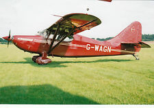 Stinson 108-3 Flying Station Wagon Reg G-WAGN   Real Photograph: Stock Ref 14764