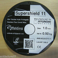 1 Coil 1.1lbs Wire of Welding WITHOUT GAS of 0 1/16in Hyundai Welder E71T11