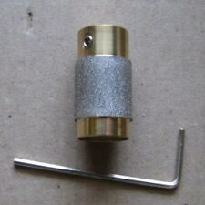 "3/4"" STAINED GLASS GRINDER BIT HEAD 4 INLAND OR GLASTAR TOP QUALITY BRASS!"