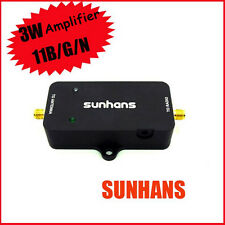 Original Sunhans 2.4GHz 3000mW 35dB 11b/g/n WiFi Indoor Signal Booster Amplifier