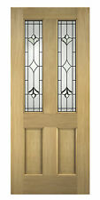 Oak External Front Door Thornbury Glazed 78x30 (1981x762x45mm)
