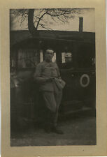 PHOTO ANCIENNE - VINTAGE SNAPSHOT - MILITAIRE VOITURE ALLEMAGNE - MILITARY 1923