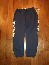 U.S MILITARY NAVY DARK BLUE SWEATPANTS SIZE SMALL. MADE IN THE U.S.A  SOFFE