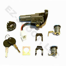 KEY IGNITION LOCK SET CHINESE SCOOTER GY6 4STROKE 50-150cc PEACE VIP TAOTAO BMS