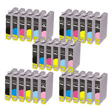 30 Ink Cartridges For Epson Stylus Photo R265 R285 R360 RX560 RX585 RX685 P50