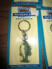 Christmas Wholesale LOT Of 10 FISH KEYCHAINS Stocking Stuffers FATHER'S DAY New