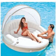 Pool Floats And Loungers Inflatable Island Floating Canopy Intex Accessories New
