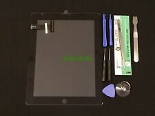 Black Screen Glass Digitizer replacement for iPad 1 1st Gen A1219 A1337 + Tools