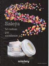 Publicité Advertising 2011  //   Sisleya  le cadeau par excellence  SISLEY
