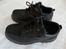 Outland men's black lace-up oxford shoes ankle boots size 8.5