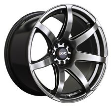18X8.5/10 XXR 560 5x100/114.3mm +20 Chromium Black Wheels Fits Ford Mustang 370Z