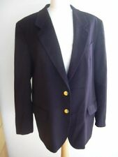 BALLANTYNE NAVY BLUE CASHMERE MEN'S BLAZER JACKET SZ. 50