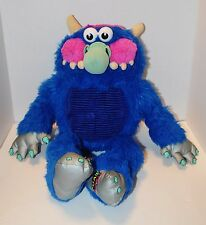 "My Pet Monster TALKING American Greetings Plush 2008 21"" Tall TESTED!"