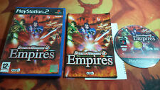 DYNASTY WARRIORS 4 EMPIRES PLAYSTATION 2 PS2 SHIPPING 24/48H