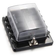 Boîtier Boîte Porte à Fusible 12V LED 10 Voies pour Voiture Auto