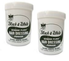 2x Black and White - Black & White HAIR DRESSING POMADE 200ml (insgesamt - 400ml