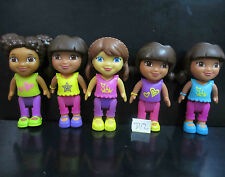 """LOT 5 Fisher-Price Dora The Explorer Playtime Dora and Me ACTION FIGURE 3"""" #D12"""