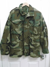 US Military Issue Woodland Camouflage Field Camouflage Jacket Small Regular BDU