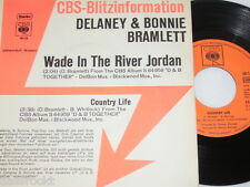 "7"" - Delaney & Bonnie Bramlett/wade in the river Jordan - 1972 promo # 2650"