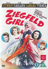 ZIEGFELD GIRL DVD JAMES STEWART JUDY GARLAND ZIEGFIELD Brand New UK ZEIGFIELD