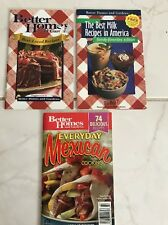 LOT Better Homes and Gardens cookbooks Favorites Mexican Milk WOW !
