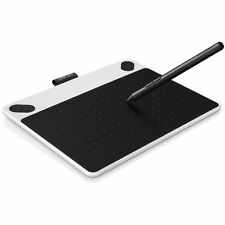 Wacom Intuos Draw Pen Small Tablet (White) CTL490DW