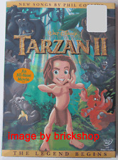 Tarzan II DVD 2005 Legend Begins Brand New Sealed Walt Disney Original Slipcover