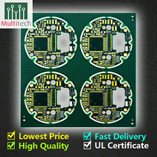 1-2 Layers PCB Manufacture Prototype Fabrication Customized Service  Low Cost