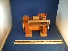 Unusual Steinbach Reuge Nutcracker Moving Wood Working Bench Music Box