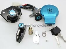 CNC fit Yamaha VIRAGO XV125 XV250 XV535 XV240 Ignition GAS CAP Steering Lock Set