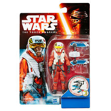 """Star Wars The Force Awakens Snow Mission 3.75"""" Figure - X-Wing Pilot Asty"""