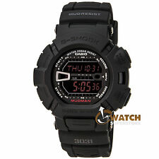 Casio G9000MS-1 Men's G-Shock Black Resin Digital Mud Resistant Black Dial Watch