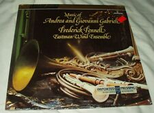 GABRIELI Frederick Fennell/Eastman Wind Ensemble SEALED LP Mercury G.I.